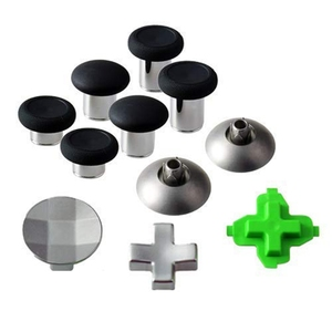 Image 5 - 11 Pcs Game Controller Metal Magnetic Thumbsticks Replacement Parts for X box One Elite P aeS 4 NS Switch