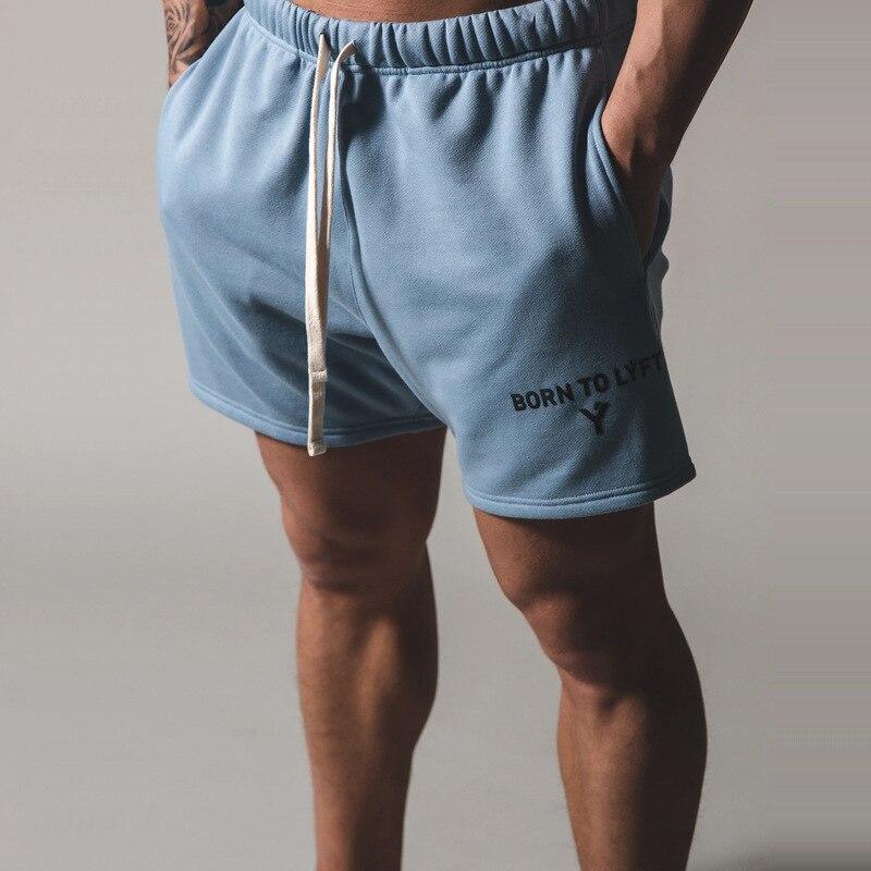 LYFT Japan Brand New Fitness Sport Shorts Men Cotton Running Shorts Plus Size 3XL Training Exercise Jogging Short Pants Joggers