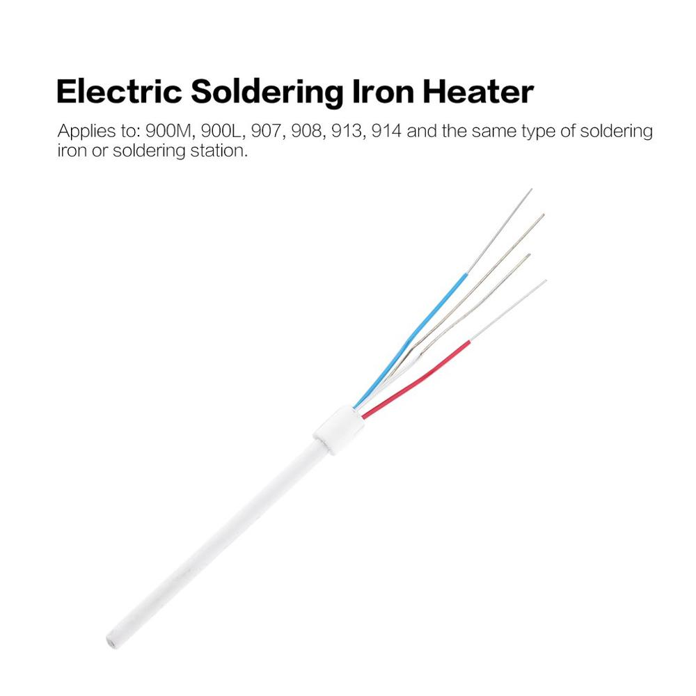 Iron Heater Soldering Station Electric Soldering Iron Heating Element Ceramic Core For 936A 8586 852D+ 898D 937 909D