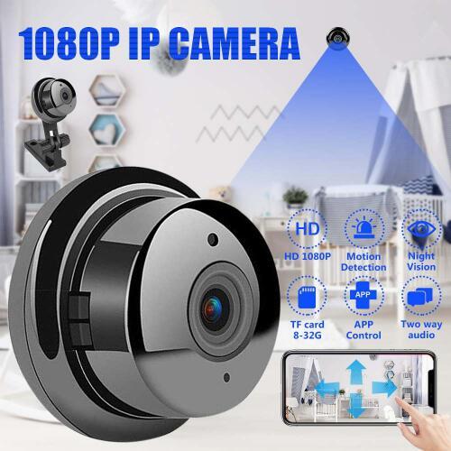 Mini Wireless 1080P IP Camera Intelligent Surveillance CCTV Wifi Two Way Audio Night Vision Smart Home Security Video System