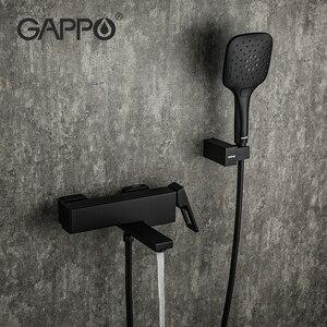 Image 5 - GAPPO bath rain shower faucet Bathtub Faucet  tap wall bathroom shower tap bath sink faucet water mixer sink tap shower system