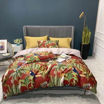 Egyptian Cotton Bedding Set Tropical Jungle