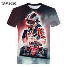 2021 Racing F13d Printed Children's Pattern Super Like Racing F1 Short Sleeve T-Shirt Men's And Women'S High Quality Sports summ