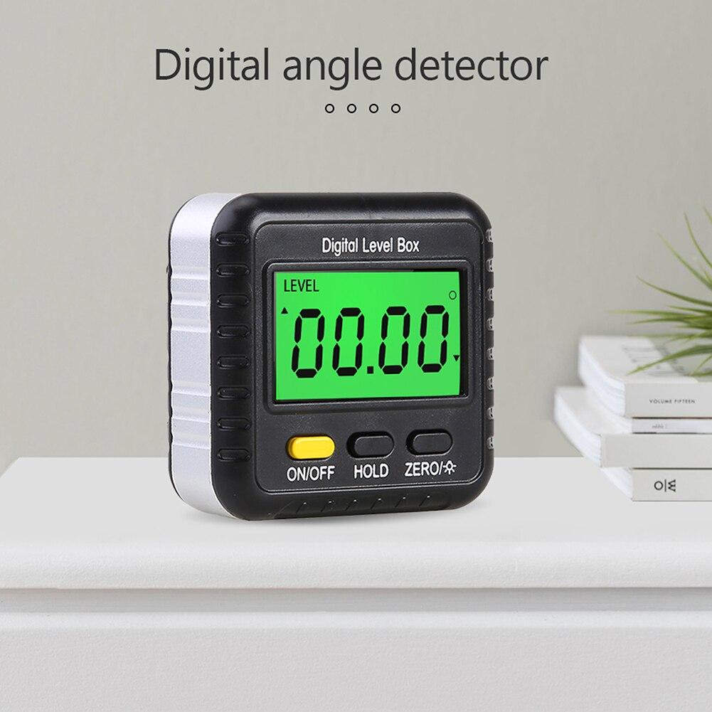 Магнитный Цифровой Инклинометр, измеритель уровня, угломер, транспортир, база, маленький электронный транспортир, измерительные инструмен...