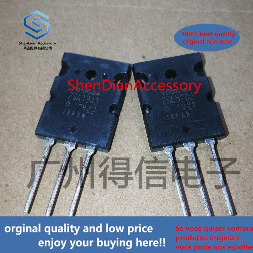2pairs 100% Orginal New 2SA1943 2SC5200 A1943 C5200 Audio Amplifier  Real Photo