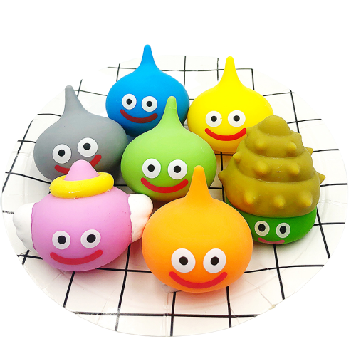 1pc Cute Mochi Squishy Emoji Antistress Ball Super Slow Rising Scented Squeeze Stress Relief Kids Toys For Children Adults