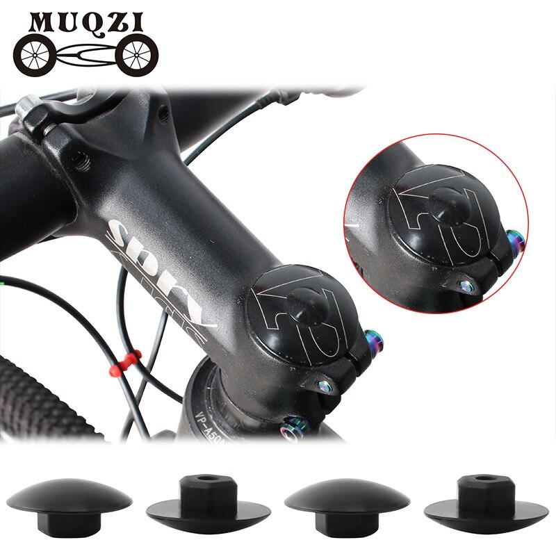 Dustproof Bicycle Stem Bike Accessories Screw Cap M5//M6  Hexagon Bolt Cover