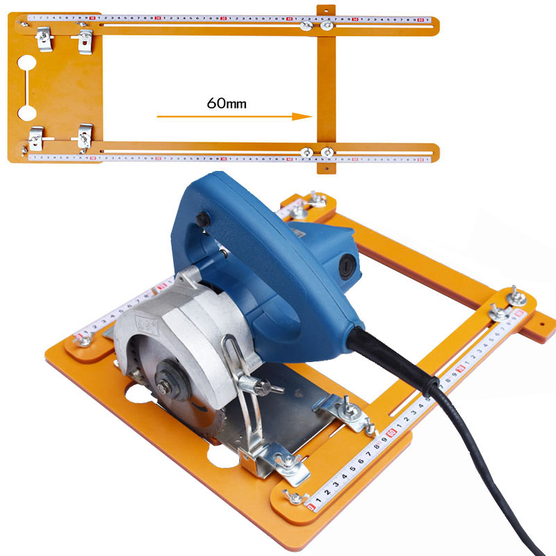 60cm For Electricity Circular Saw Marble Machine Edge Guide Positioning Cutting Board Tool Woodworking Tools