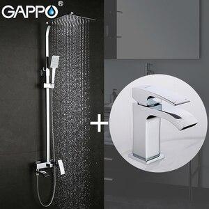 Image 5 - GAPPO mitigeur de lavabo, robinets de lavabo, mitigeur de lavabo, robinets de baignoire, mélangeur de baignoire, ensemble de douche de salle de bains