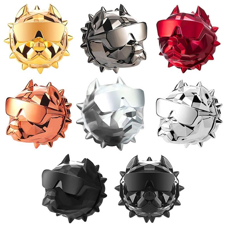 New Bulldog Car Air Freshener Perfume Clip Fragrance Diffuser Auto Vents Scent Parfum Bulldog Diffuser Car Decor