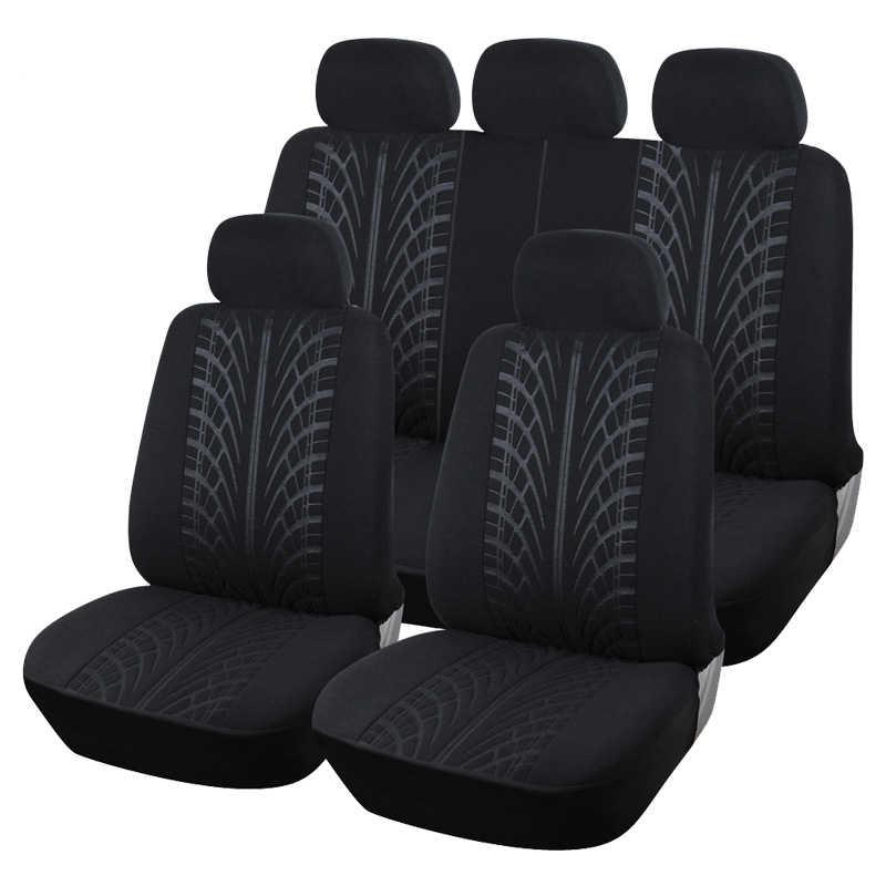 Fundas de asientos de coche de fibra de lino de cobertura completa, fundas de asientos de coche para chevrolet optra sail spark spin trailblazer trax