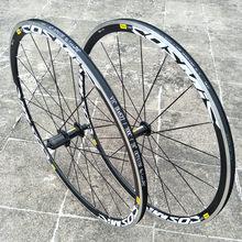 뜨거운 판매 원래 700C 우주 엘리트 BMX 도로 자전거 자전거 바퀴 알루미늄 합금 V 브레이크 바퀴 30mm 림 Wheelset