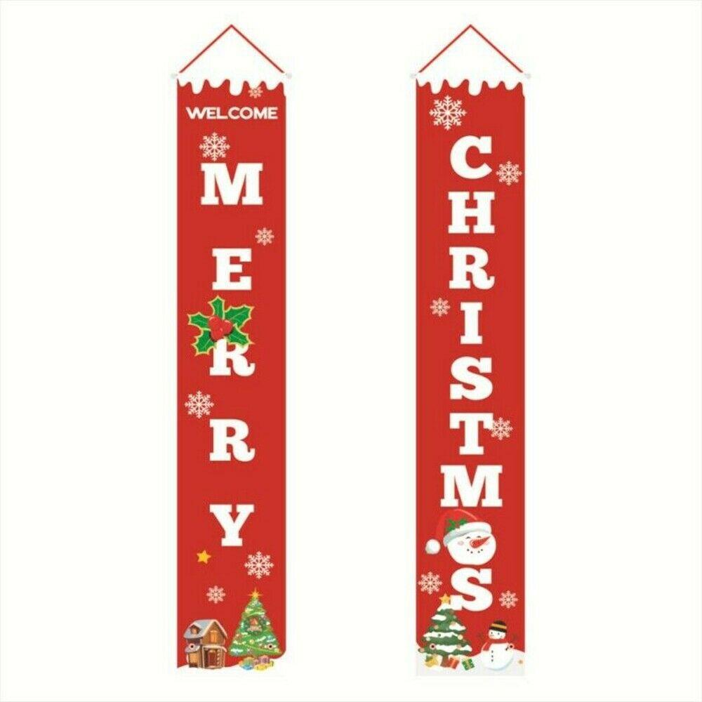 feliz natal couplets porta pendurado ornamento decoracao 01