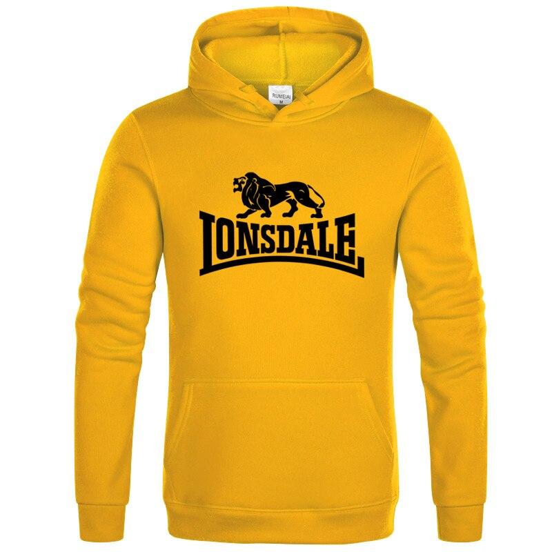 Hot Sale 2020 New Lonsdale Printing HOODIE Hip Hop Street Wear Sweatshirts Skateboard Men/Woman Pullover Hoodies Male Hoodie