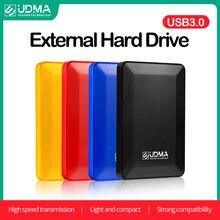UDMA USB 3.0 zewnętrzny dysk twardy 2TB 500G Disco Duro Dxterno 1Tb HDD USB oryginalne urządzenie pamięci masowej śliczne pamięć USB 750Gb