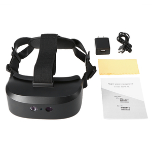 Image 5 - new outdoor Digital Night Vision Goggles Eye Mask Device of Observed In Darkness HD Imaging for Hunting Scope Head Mounted 60M