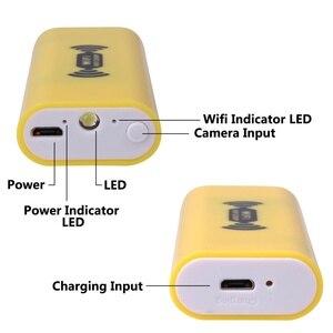 Image 4 - Câmera endoscópica wifi hd 1200p, mini cabo rígido à prova d água, câmera de inspeção de 2.0 megapixels 8mm 6led 12m/endoscópio usb de 3.5m//5m