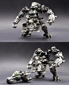 Image 5 - RIHIO MM003 Transformation V Link Mecha Series Insect Cutting Machine Assembled mech Robot Toys