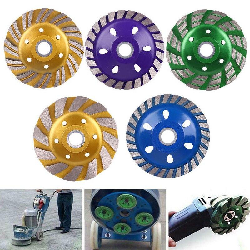 1 Pcs Diamond Grinding Sheet Wheel Concrete Cup Disc Masonry Stone Tool 100mm TN99