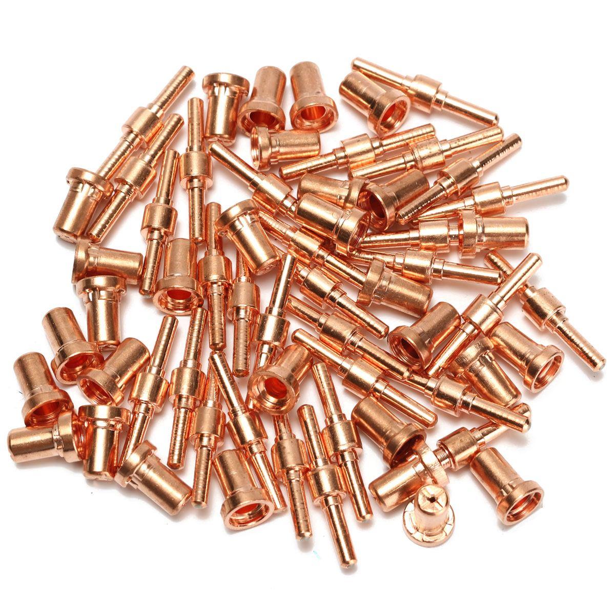 60 pces consumíveis prolongados elétrodos e bocais