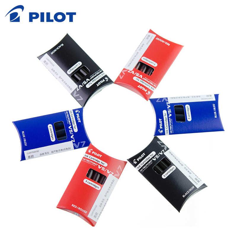 3 sztuka/paczka PILOT BXS-IC jednorazowy atrament pęcherzykowy tusz V5V7 pęcherz atramentowy do BXC-V5 V7