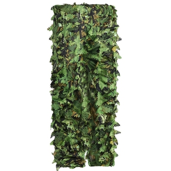 Sticky Flower Bionic Leaves Camouflage Suit Hunting Ghillie Suit Woodland Camouflage Universal Camo Set 4