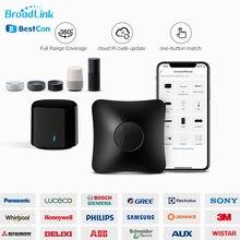 Broadlink Bestcon RM4 Pro RM4C 미니 WiFi + IR + RF 범용 스마트 지능형 리모컨은 Alexa Echo 음성 제어와 함께 작동합니다.