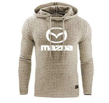Hoodies Men Mazda Car Logo Print Sweatshirt Spring Autumn Men Hoodies Sportswear Hip Hop Harajuku Casual Hoody Tracksuit