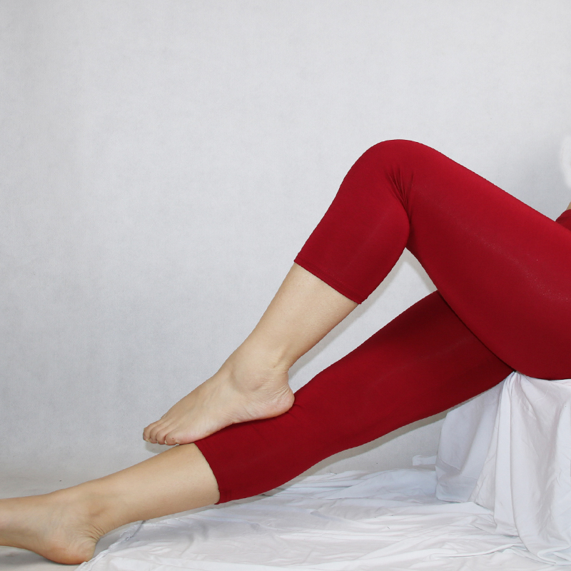 Shikoroleva Jeggings 2019 Summer Women Solid Color 3/4 Capris Short Leggings Lady Plus 7XL 6XL 5XL XS Pink Black Purple Legins