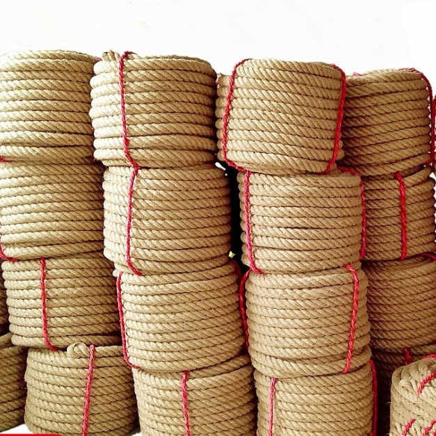 Natural  String  Craft  Jute  Hemp  Cord  Twisted  Twine  Burlap  Rope  Decor