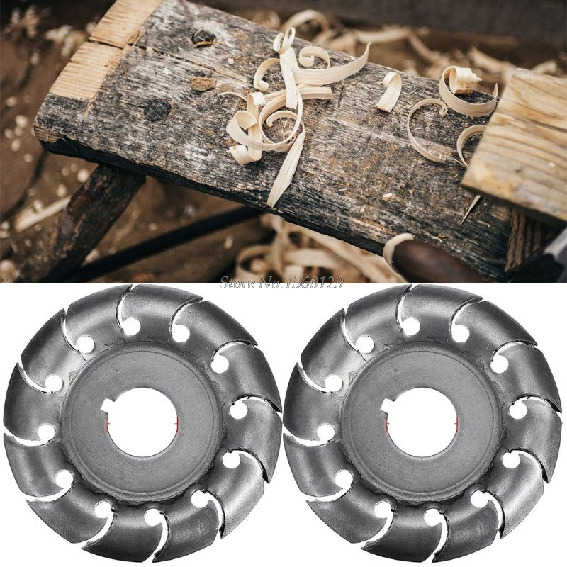 1PC Electric Angle Grinder Shaping Blade Wood Carving Disc Cutting Woodworking Tool  Whosale&Dropship
