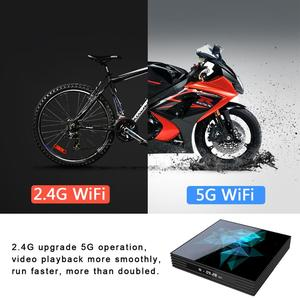 Image 4 - Tv box Android 9.0 A95X Rockchip 4G 32GB 64GB Android box Bluethooth 2.4/5.0G WiFi Google Play Smart Android Tv box
