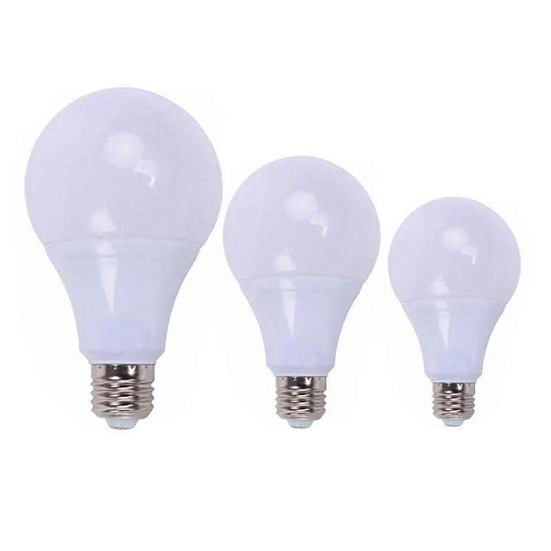 E27 Screw Light Bulbs Cool White 21W 18W 15W 12W 9W 6W 3W 220V 110V Energy Saving LED Lights Bright 6000K For Home