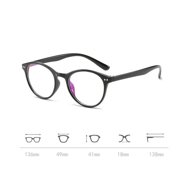 Iboode готовой близорукость очки Для женщин мужчин овальная оправа прозрачные линзы привлекающие внимание рецепта 0-0,5-1,0-1,5-2,0-6,0 Новый