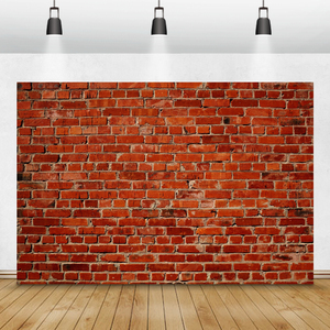 Image 2 - Laeacco Brick Wall Backdrops Vintage Grunge Baby Portrait Photography Backgrounds Birthday Party Photocall For Photo Studio Prop