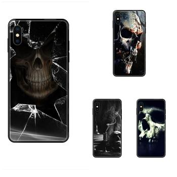 Stunning The Haunted Mansion Skull Phone Case For Galaxy A5 A6 A7 A8 A10 A10S A20 A20S A20E A21S A30 A30S A40 A50 A70 A71 A70E image