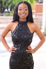 Реальное фото черные платья русалки для выпускного вечера 2020