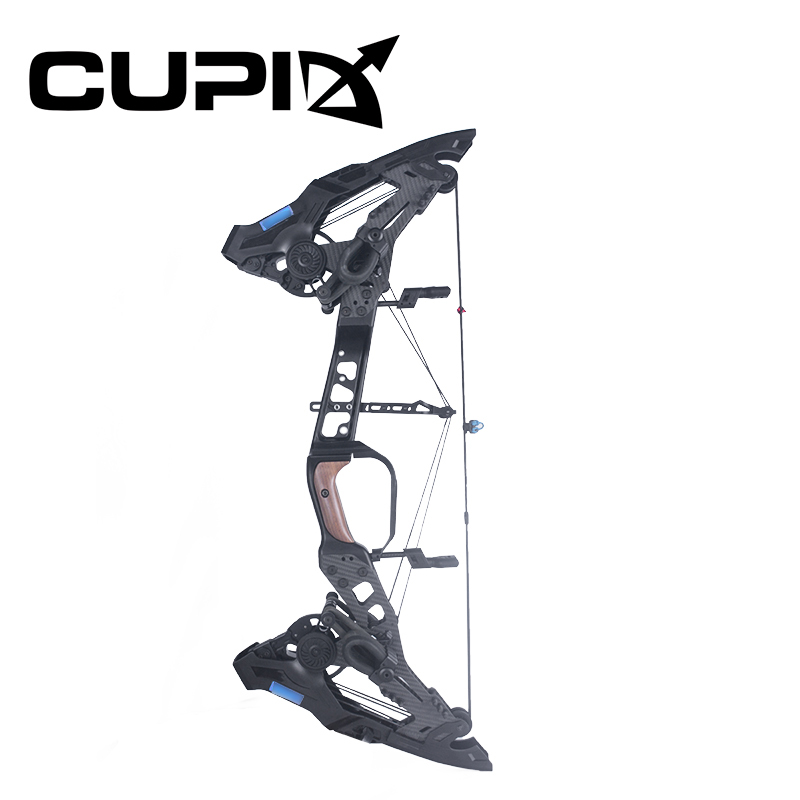 Compound Bow 21.5-80 Lbs Draw Weight 26-30 Inches Draw Length 330/460 Fps IBO Archery/Playing Steel Ball Dual Use For Shooting