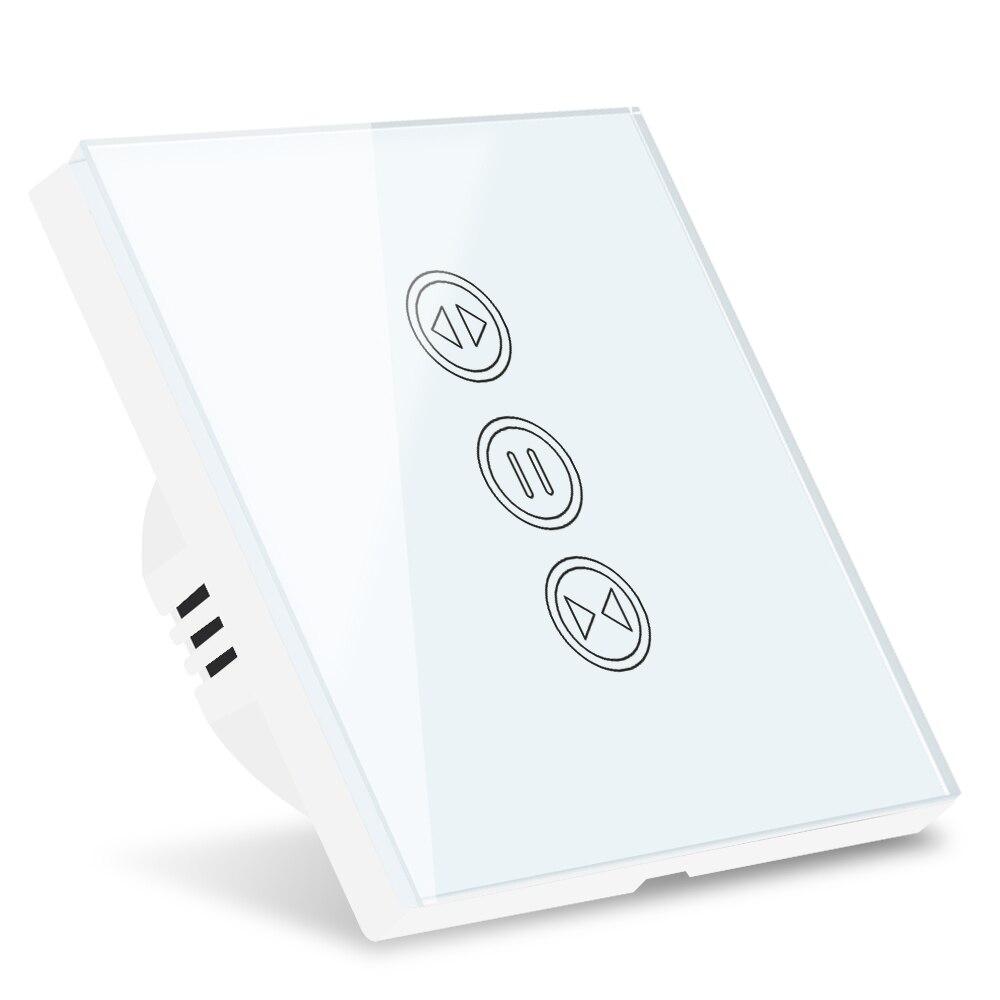 Tuya Smart cortina con WiFi persianas interruptor para persiana enrollable Motor Tubular eléctrico Google Home Alexa Echo Aplicación de hogar inteligente temporizador