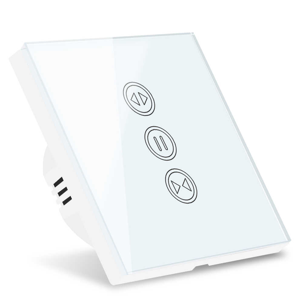 Tuya Wifi Thông Minh Màn Cửa Khoen Công Tắc Cho Cửa Cuốn Điện Hình Ống Xe Máy Google Nhà Alexa Echo Nhà Thông Minh Ứng Dụng Hẹn Giờ