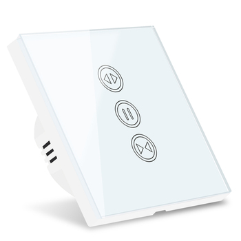 Tuya Smart WiFi Curtain Blinds Switch for Roller Shutter Electric Tubular Motor Google Home Alexa Echo Smart Home App Timer