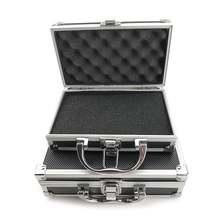 Портативный пластиковый ящик для инструментов из алюминиевого