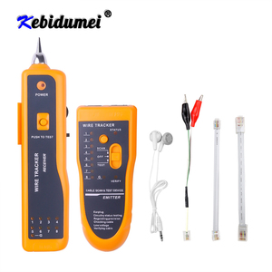 New RJ11 RJ45 Cat5 Cat6 Telephone Wire Tracker Tracer Toner Ethernet LAN Network Cable Tester Detector Line Finder