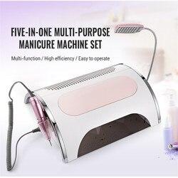 Guatala 5 In 1 Electric Manicure Drills Multi-Purpose Electronic Nail-Beauty Manicure Pedicure Nail File Bit Nail Art Equipment