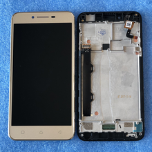 """Original Axisinternational LCD Frame 5.0"""" For Lenovo Vibe K5 Plus A6020a46 LCD Display Screen+Touch Panel Digitizer Assembly"""