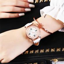 цены Luxury Diamond Women Watches 2019 Designer Charm Ladies Fashion Wristwatches Female White Watch Woman Quartz Leather Clock