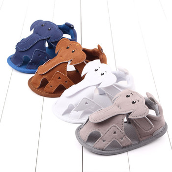 Baby Sandals Cartoon Elephant Shoes for Gilrs Boys Soft Sole Infant Non Slip First Walkers Toddlers