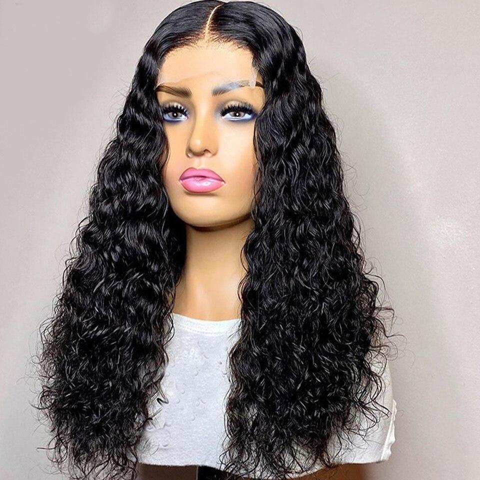 laço encaracolado perucas de cabelo sintético para