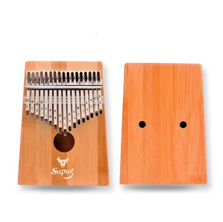 17 keyboard Kalimba flea piano finger tap music coffin C song Kalimba finger Mbira Likembe Sanza