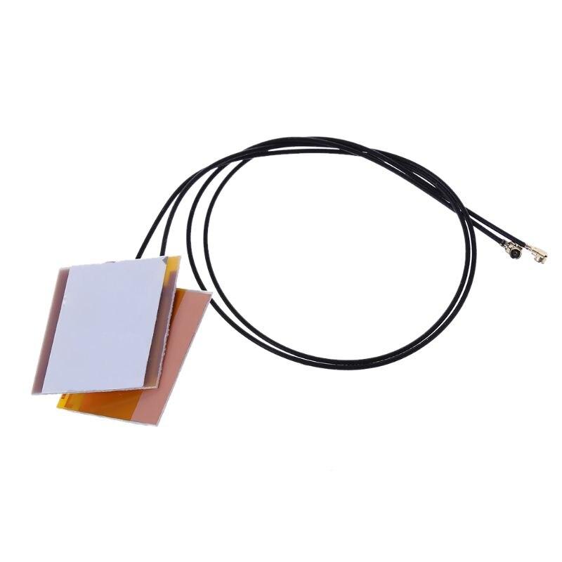 1 Pair Laptop Internal Wireless WiFi Antenna For Intel 6230 3160AC 7260HMW MINI PCI-E U.FL Bluetooth Network Adapter Aerial
